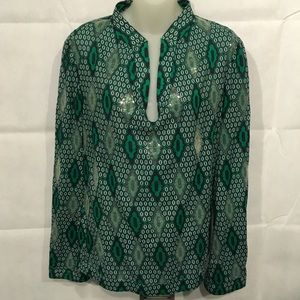 Tory Burch used excellent condition blouse size 10